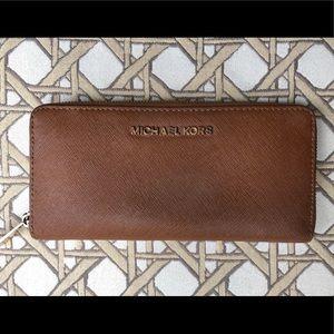 Michael Kors Cognac Wallet